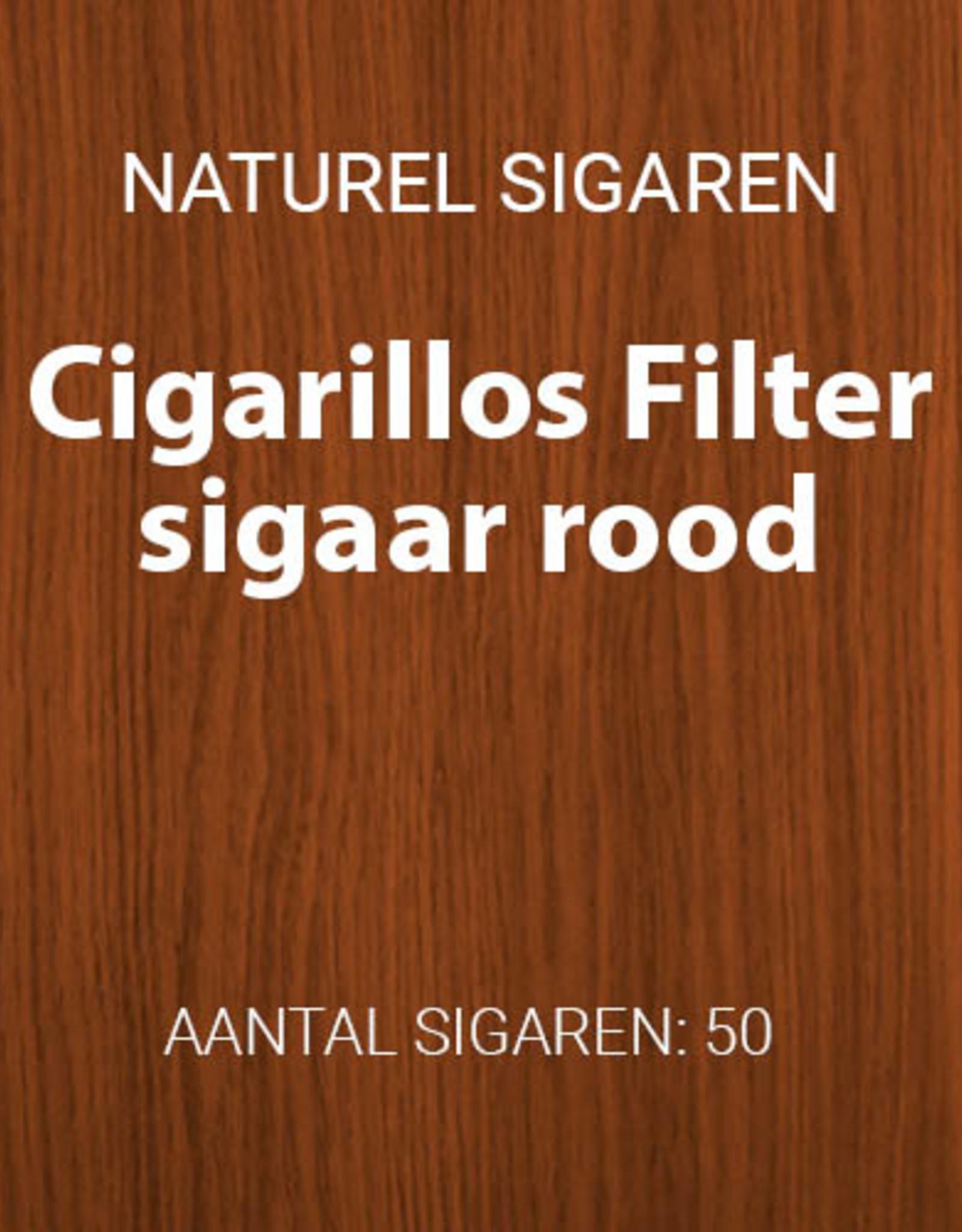 50 Filter Sigaartjes Rood