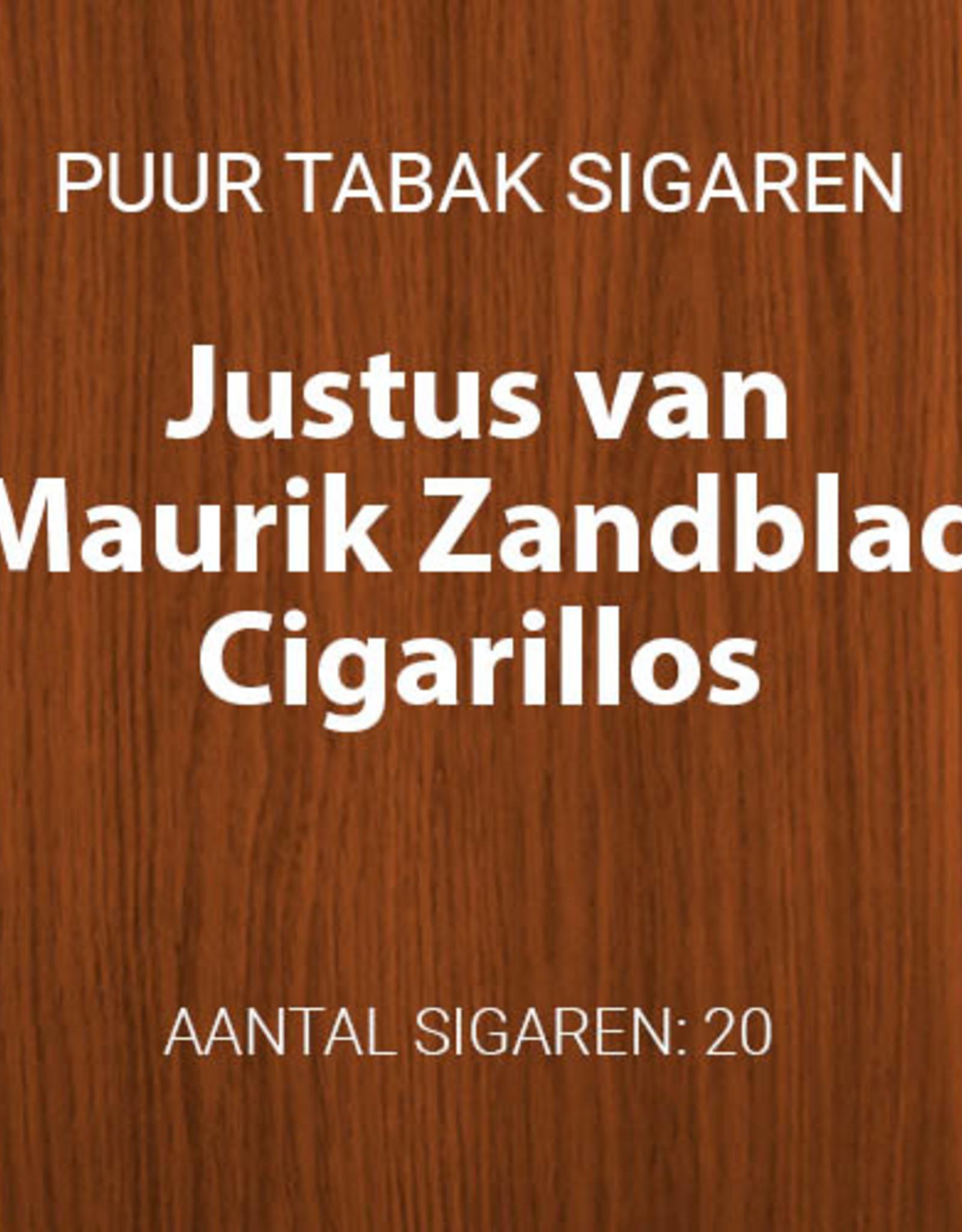 Justus van Maurik Zandblad Cigarillos 20 stuks