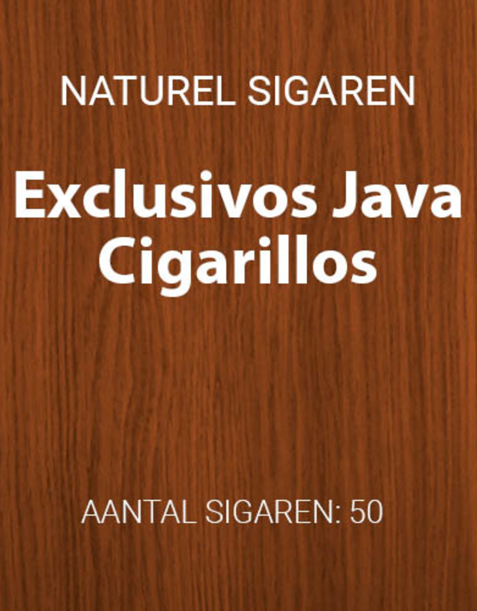 Exclusivo Java Cigarillos