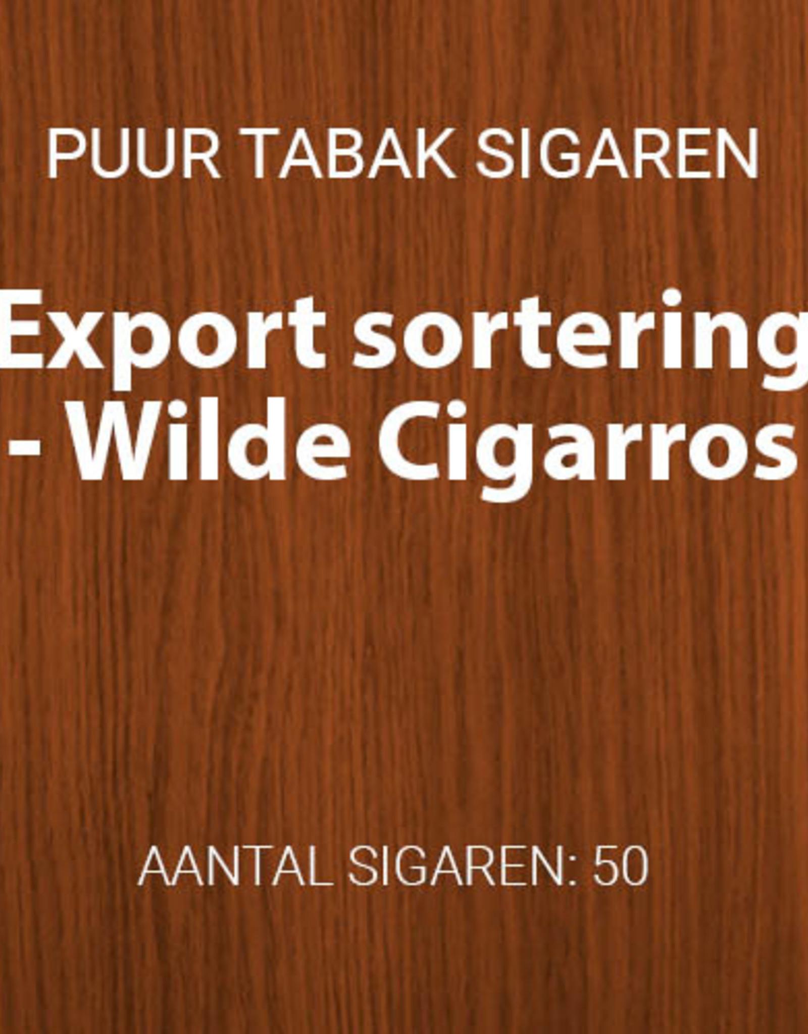 Export sortering Sumatra 50 Wilde Cigarros
