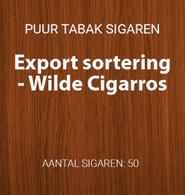 Export sortering Wilde Cigarros