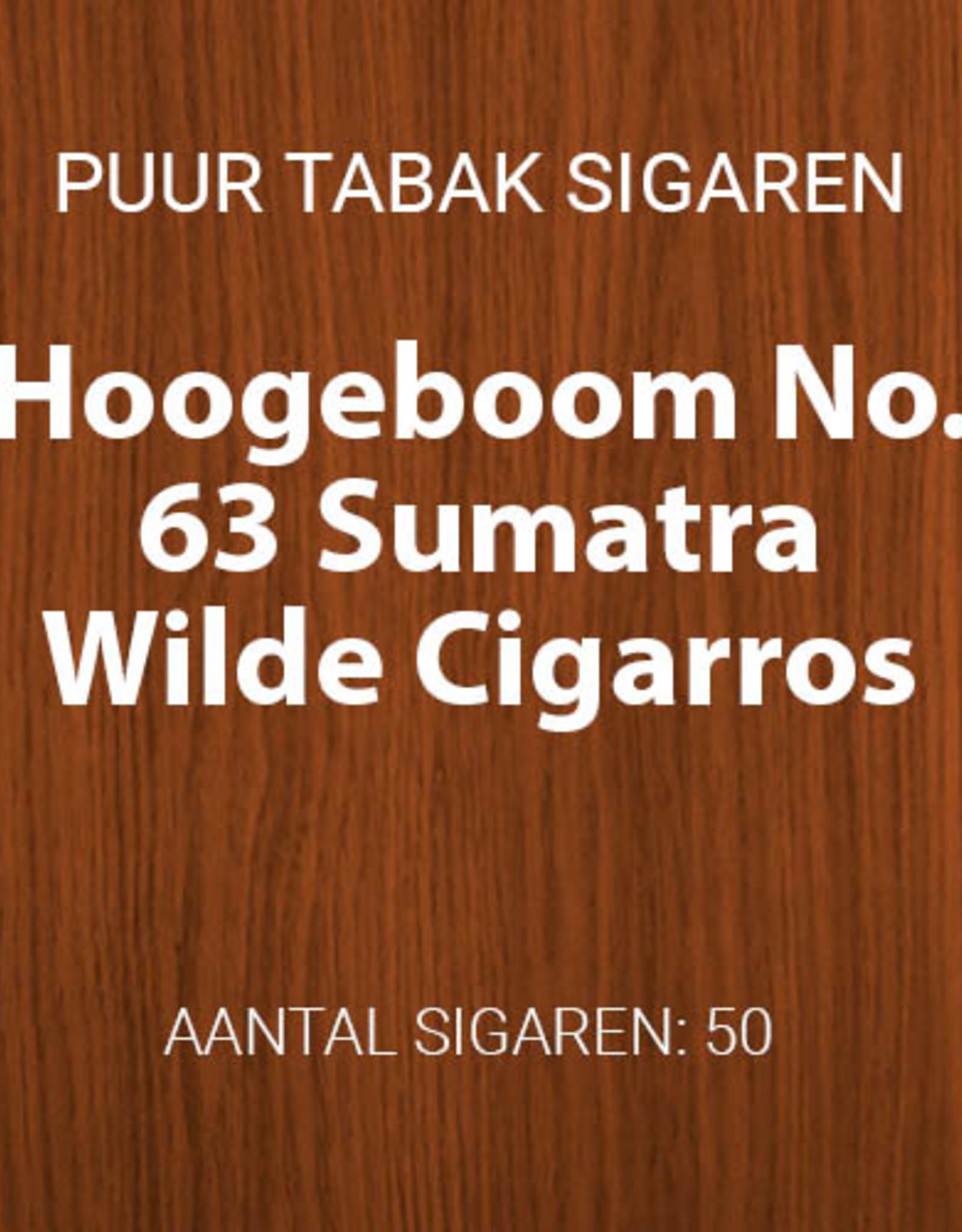 No. 63 Sumatra Wilde Cigarros