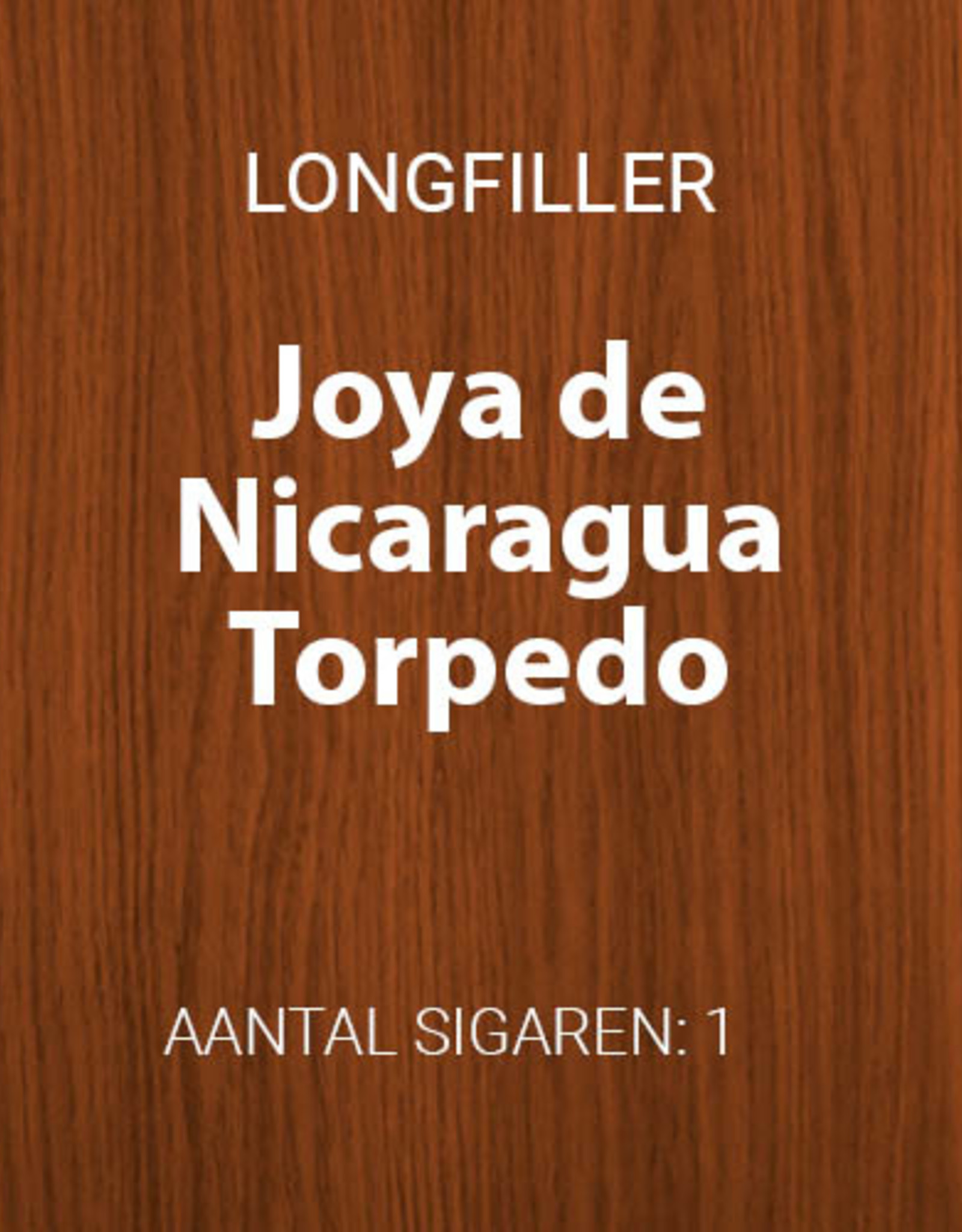 Joya de Nicaragua Torpedo longfiller