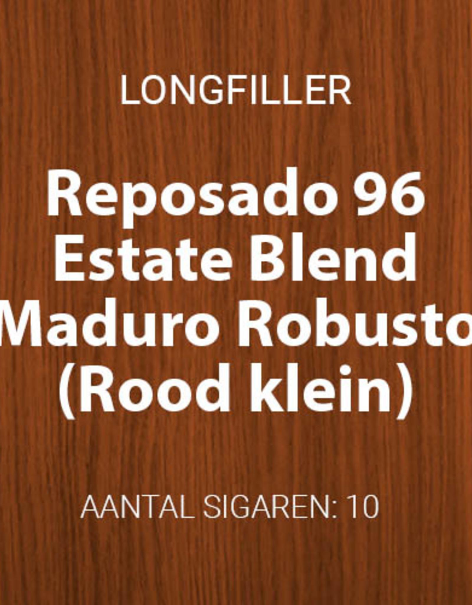 Reposado Estate Blend Maduro Robusto (Rood, klein)