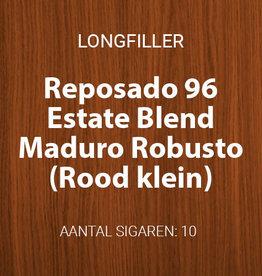 Reposado Estate Blend Maduro Robusto - Rood, klein