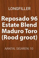 Reposado Estate Blend Maduro Toro longfillers (Rood, groot)