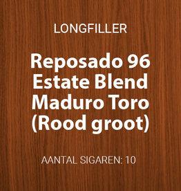 Reposado Estate Blend Maduro Toro - Rood, groot