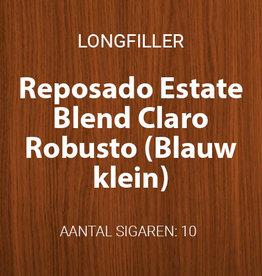 Reposado Estate Blend Claro Robusto - Blauw, klein