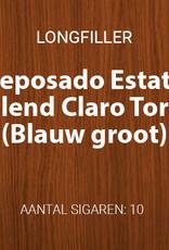 Reposado Estate Blend Claro Toro longfillers (Blauw, groot)