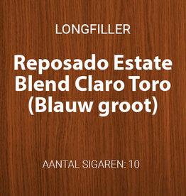 Reposado Estate Blend Claro Toro - Blauw groot