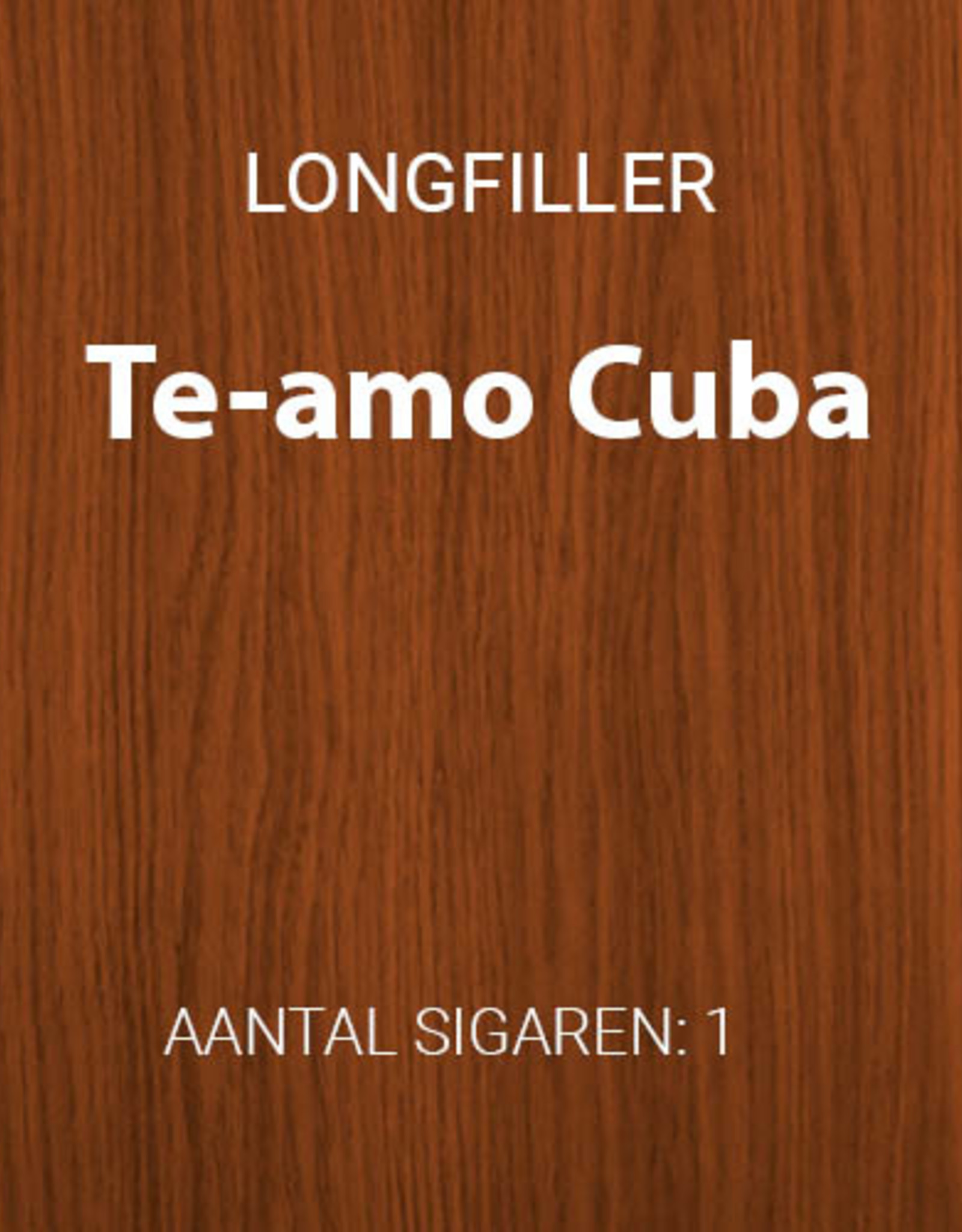 Te-Amo Cuba longfiller