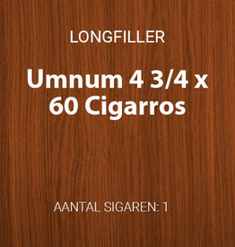 Umnum 4 3/4 x 60 longfiller