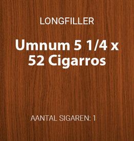 Umnum 5 1/4 x 52 longfiller
