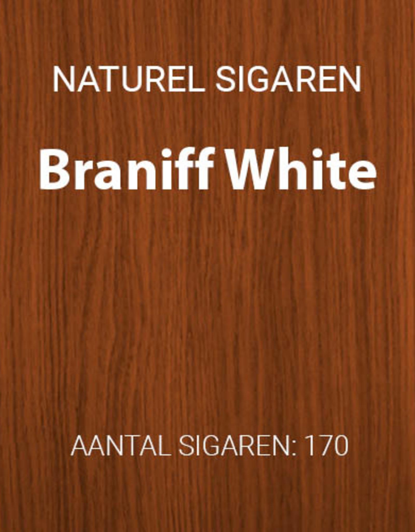Braniff White filter cigarillos