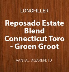 Reposado Estate Blend Connecticut Toro - Groen, groot