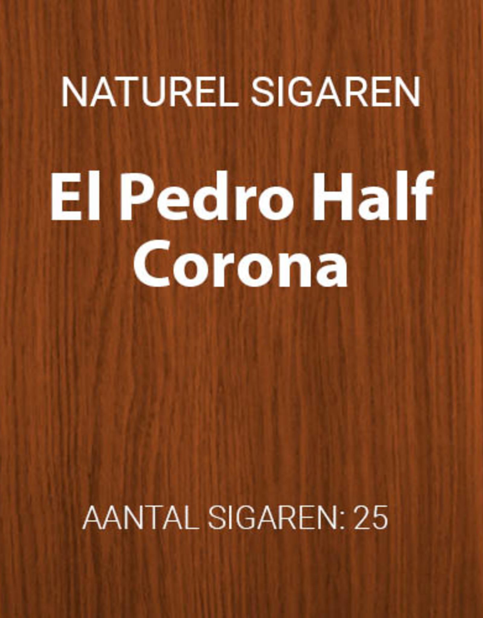 El Pedro Half Corona 25 stuks