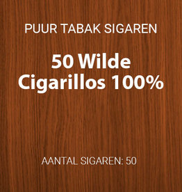 50 Wilde Cigarillos 100% tabak