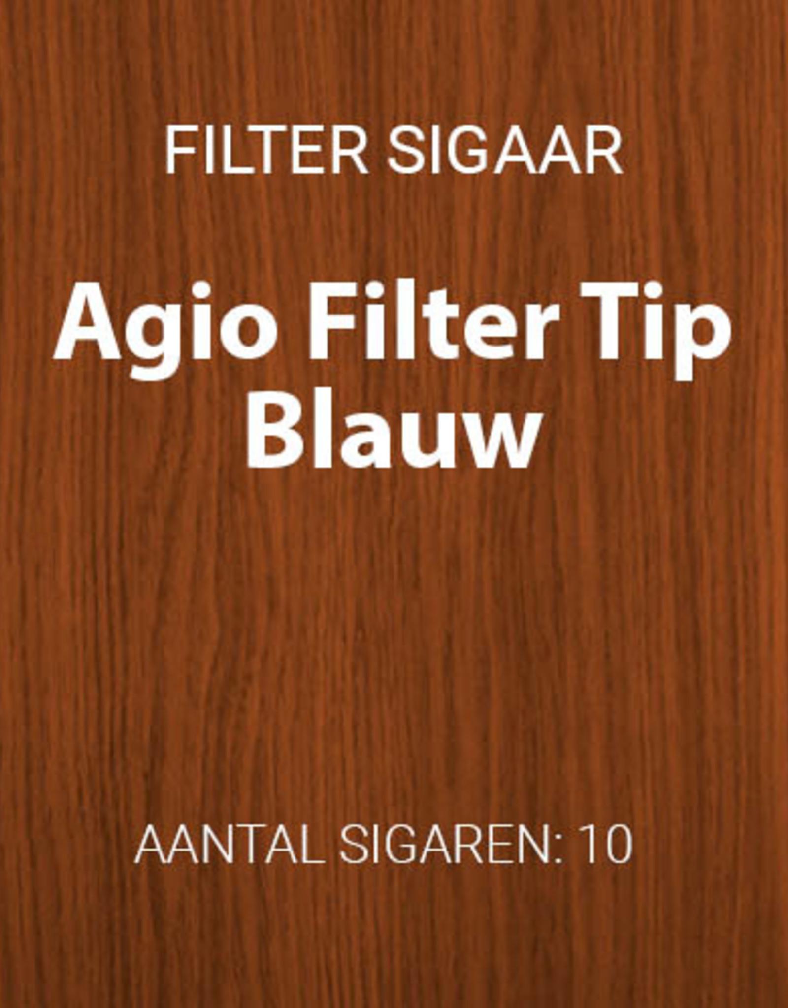 Agio Filter Tip Blauw