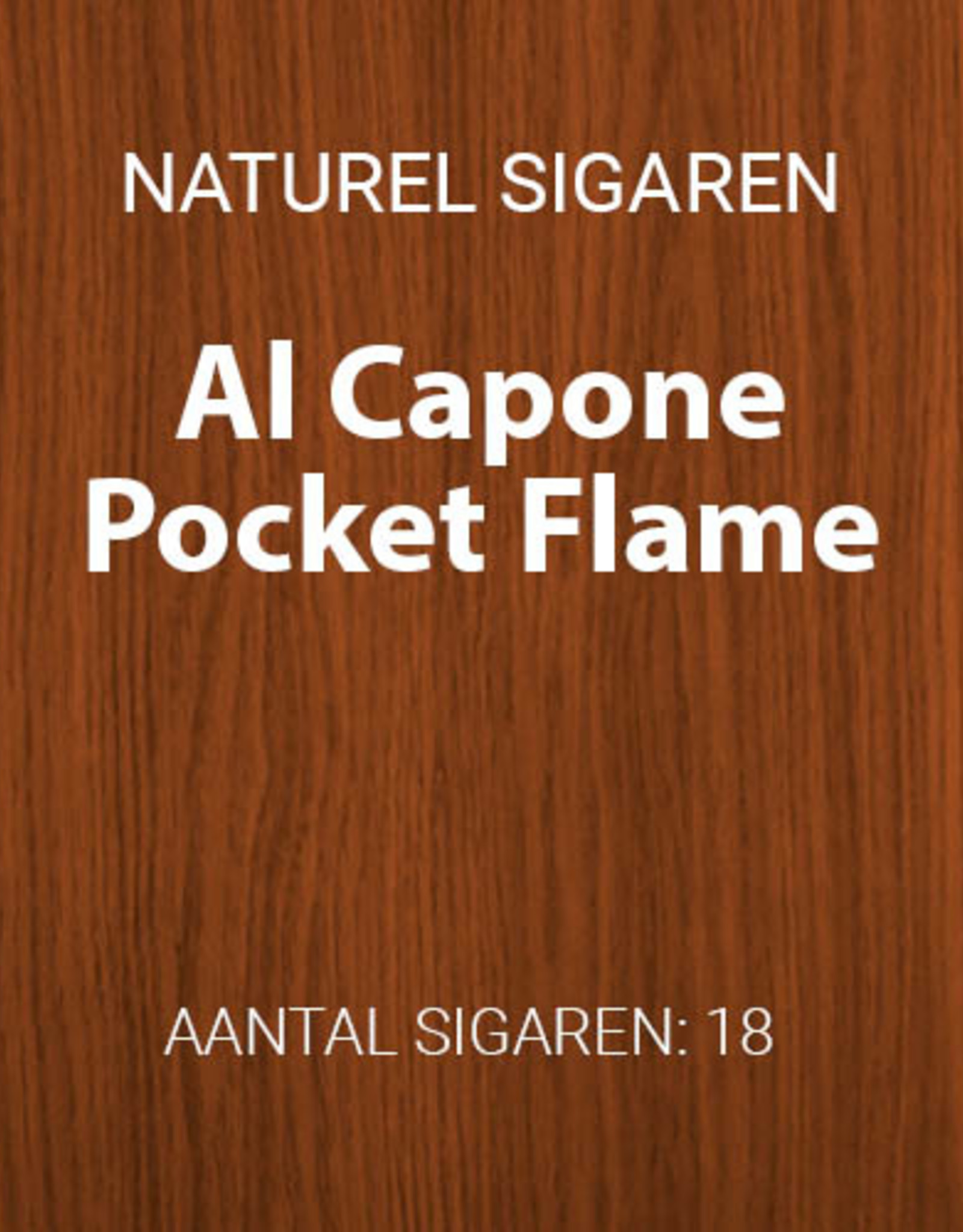 Al Capone Pocket Flame