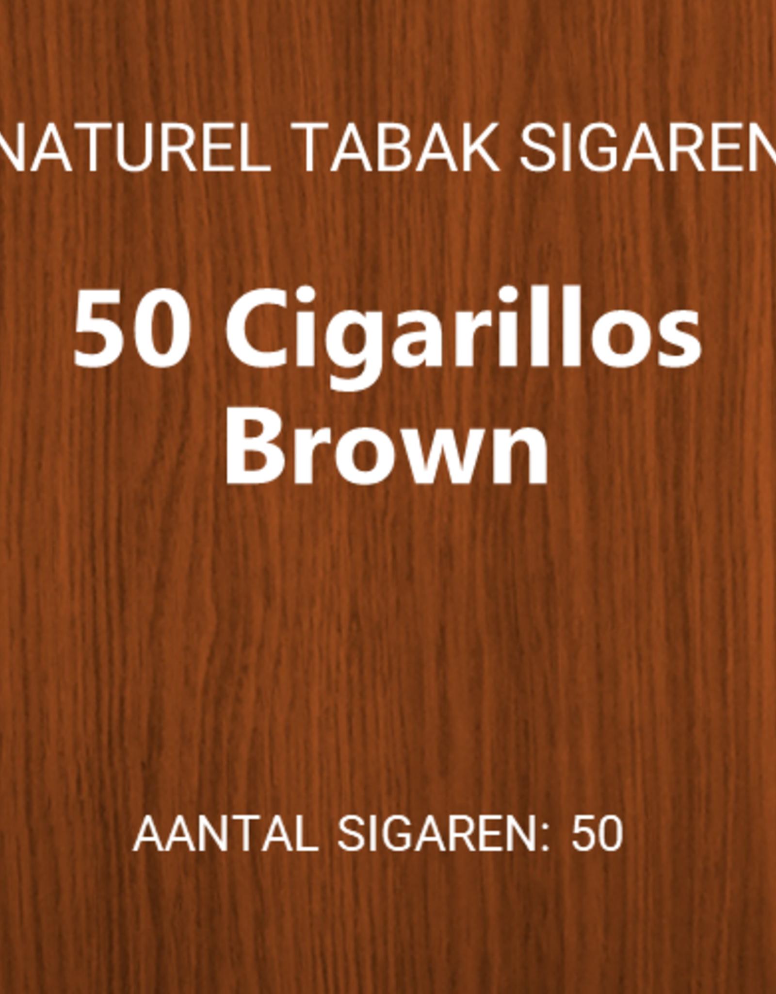 50 Cigarillos Brown