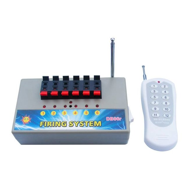 Firing System with 6 channels (1x6)