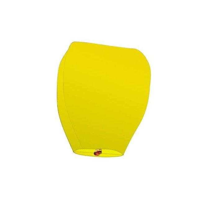 Himmelslaterne Gelb