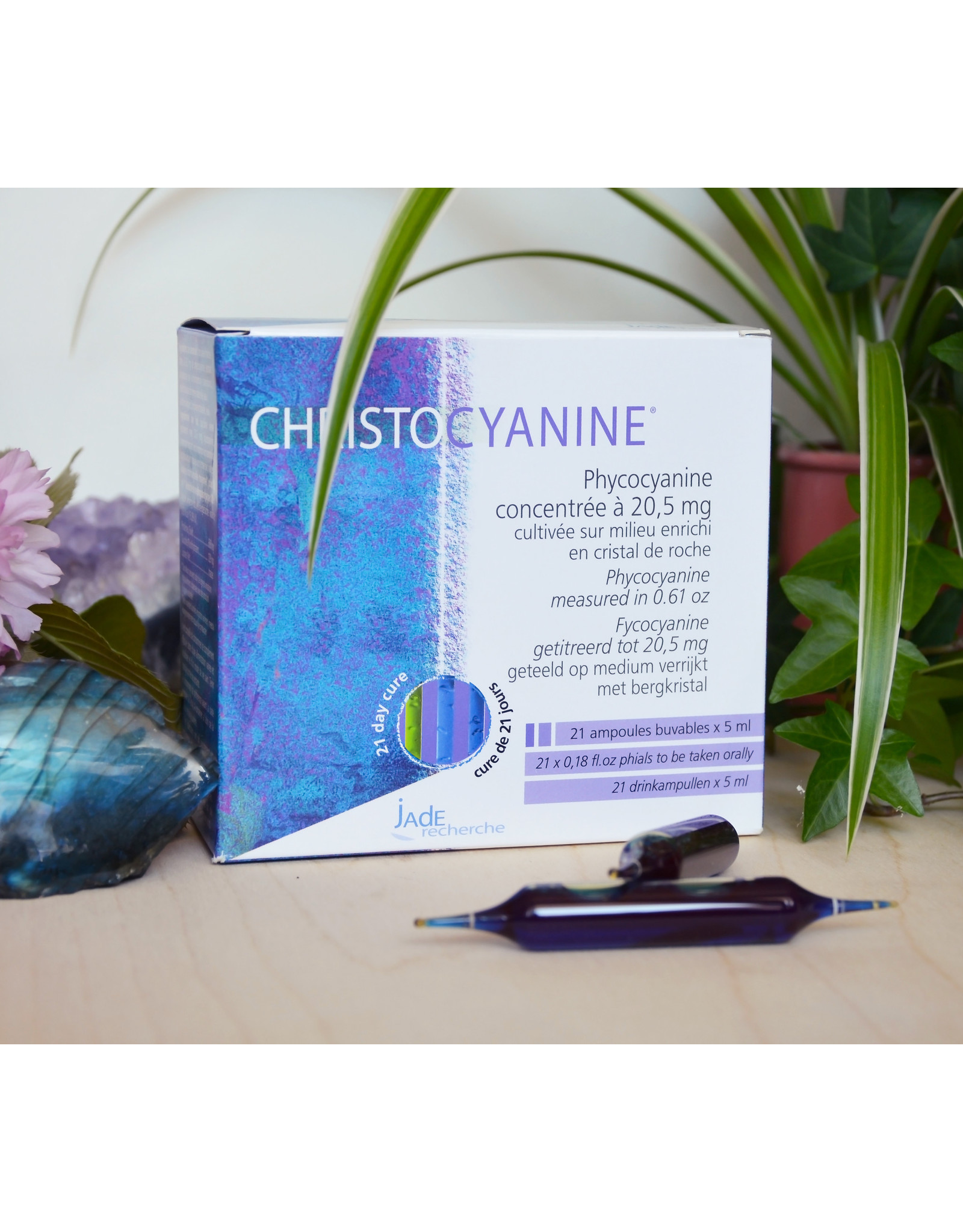 jade recherche Christocyanine