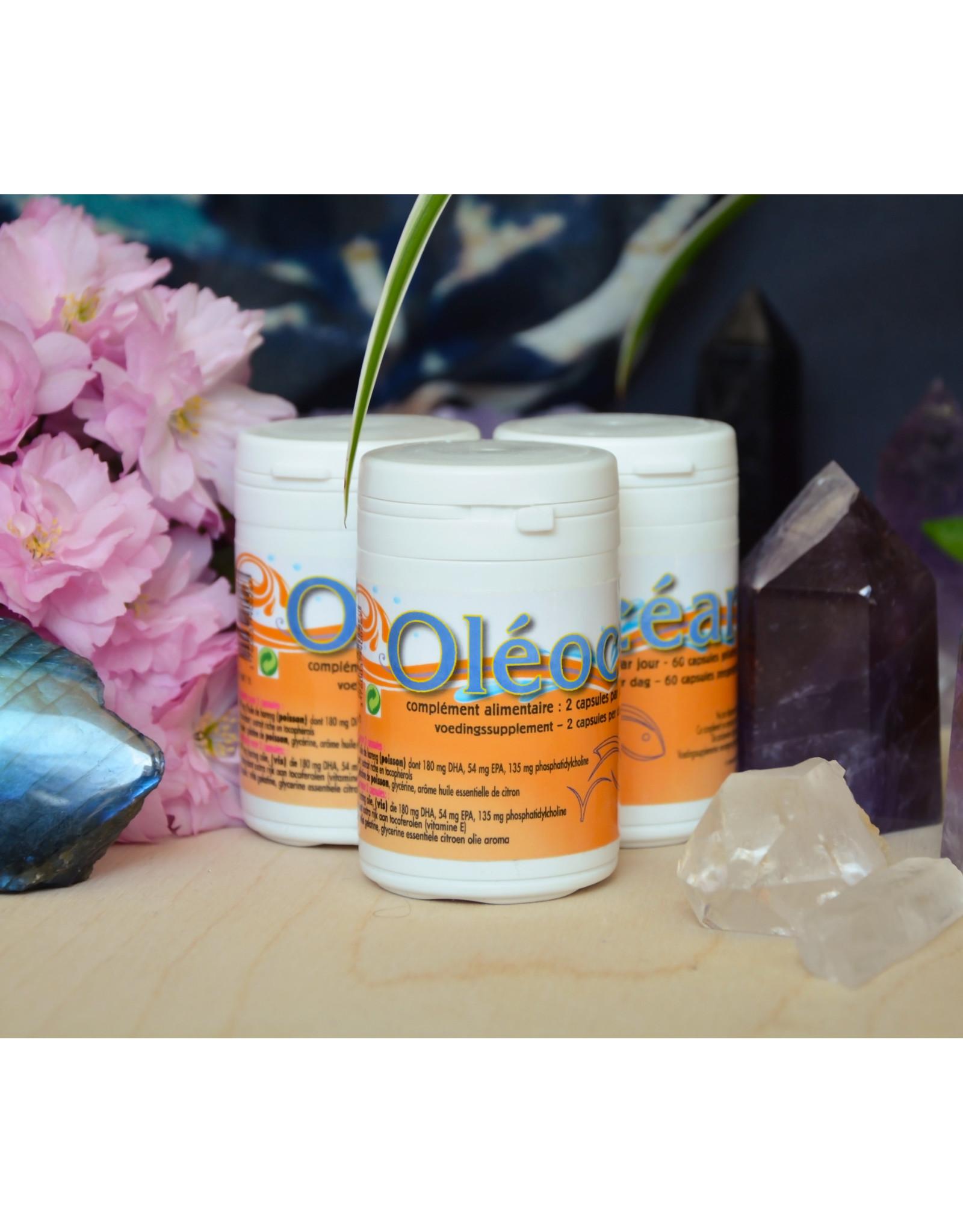 jade recherche Oleoceane 60 gelules