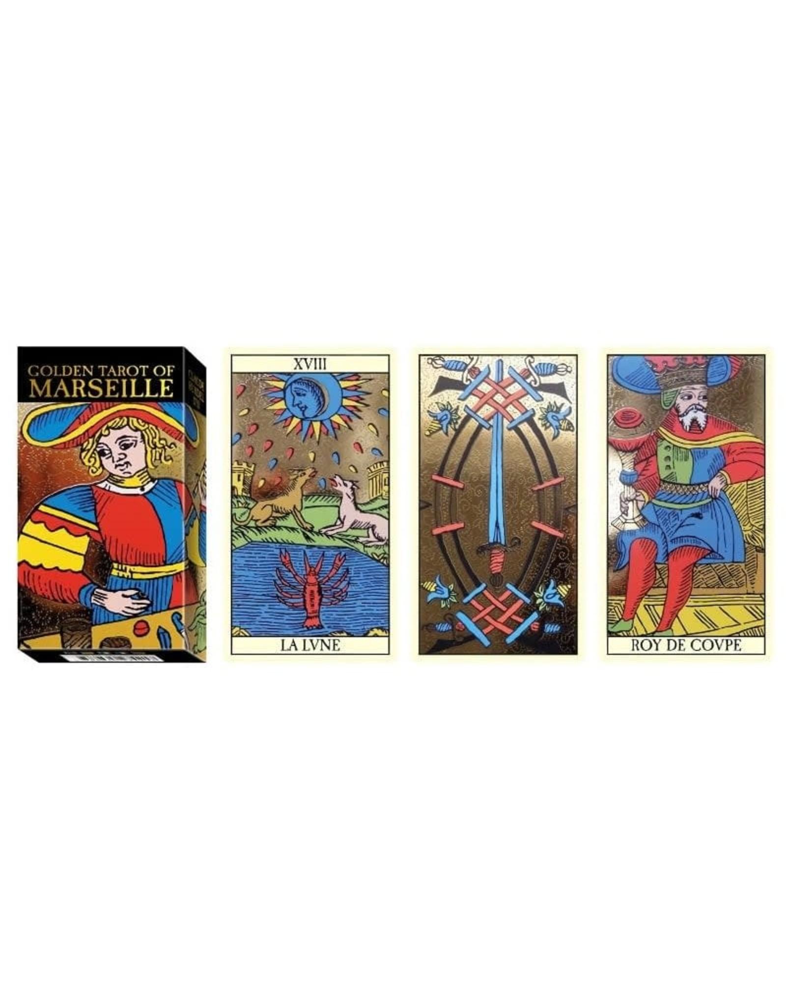 Tarot de Marseille Version Golden