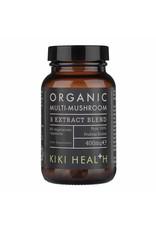 kiki health MULTI-MUSHROOM BLEND, Organic – 60 Vegicaps