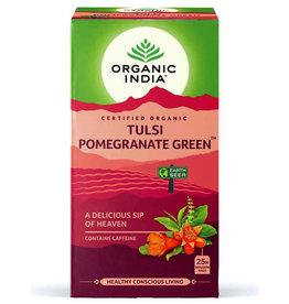 Organic India Organic India Tulsi Pomegrenate green