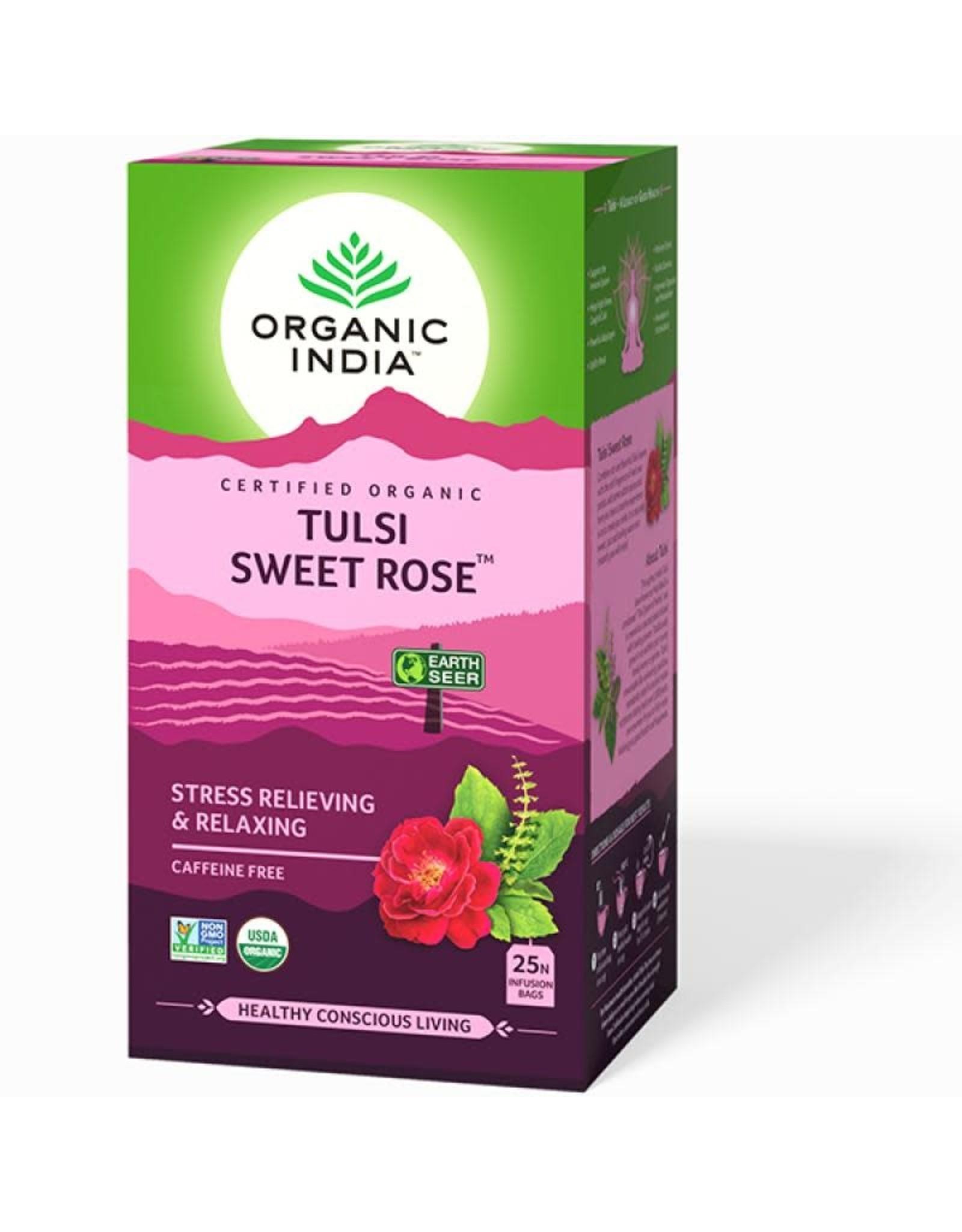 Organic India Tulsi Sweet Rose
