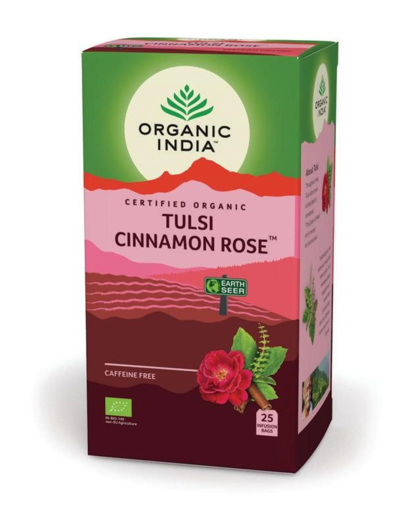 Organic India Tulsi Cinamone Rose