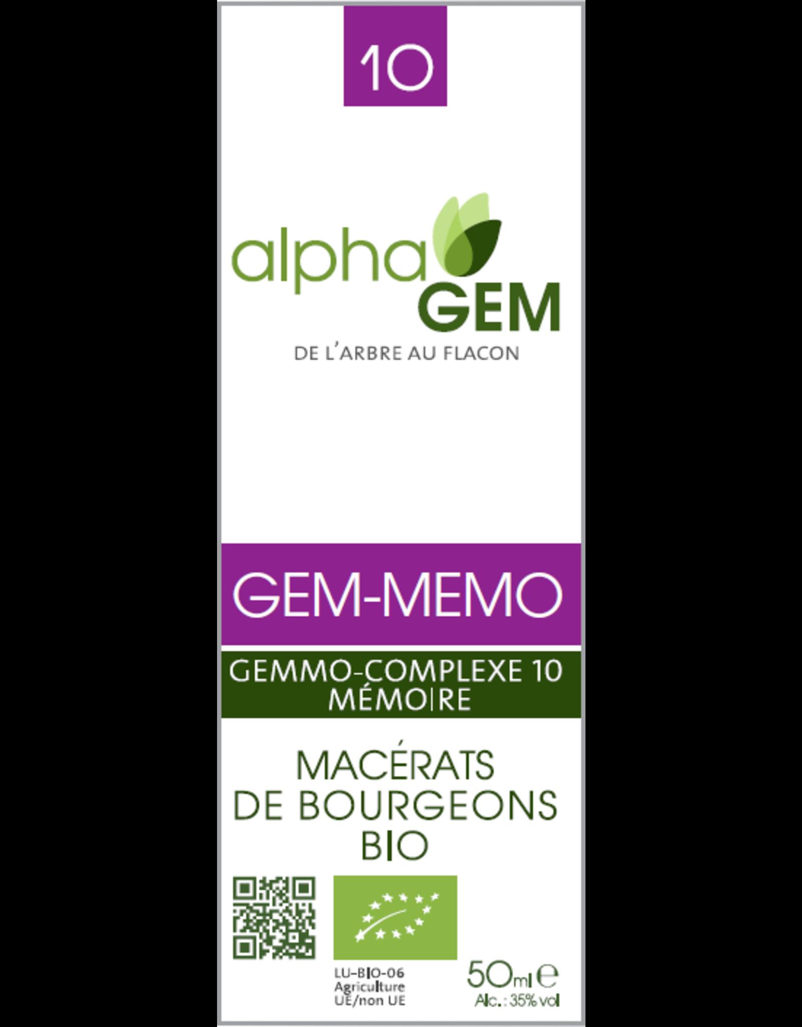 Alpha Gem Alpha Gem  MEMO 10 15ml