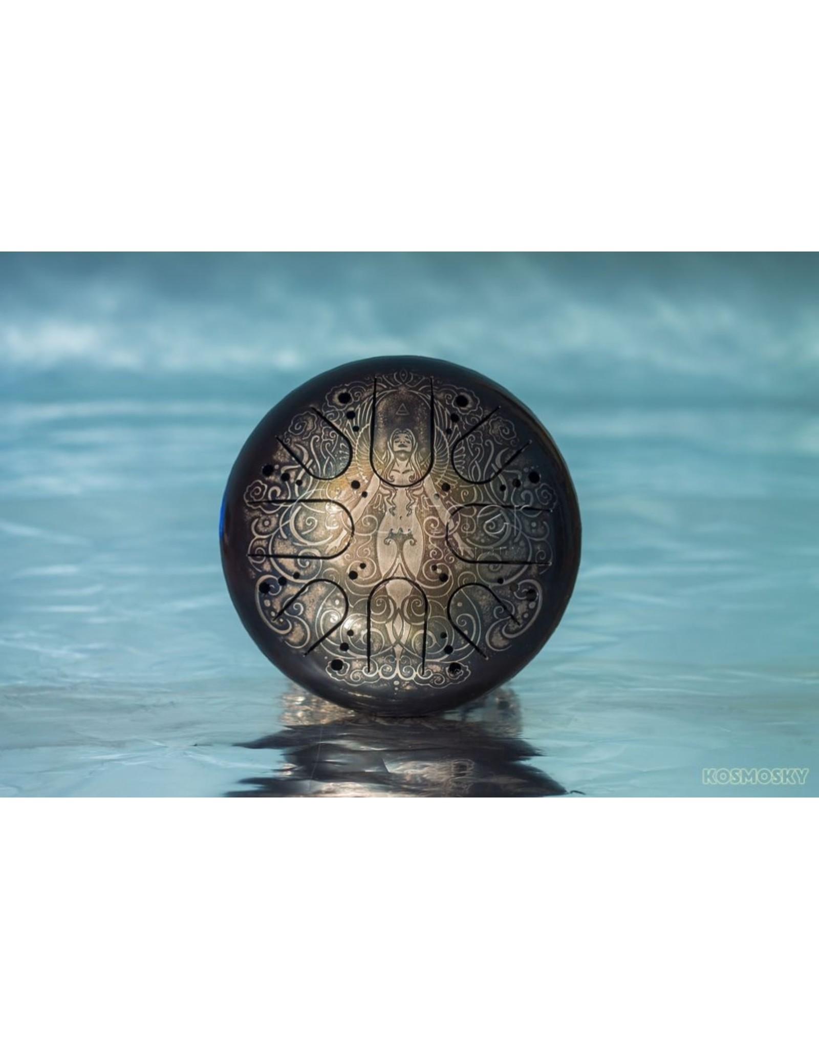 Steel tongue drum 22cm, Kosmosky