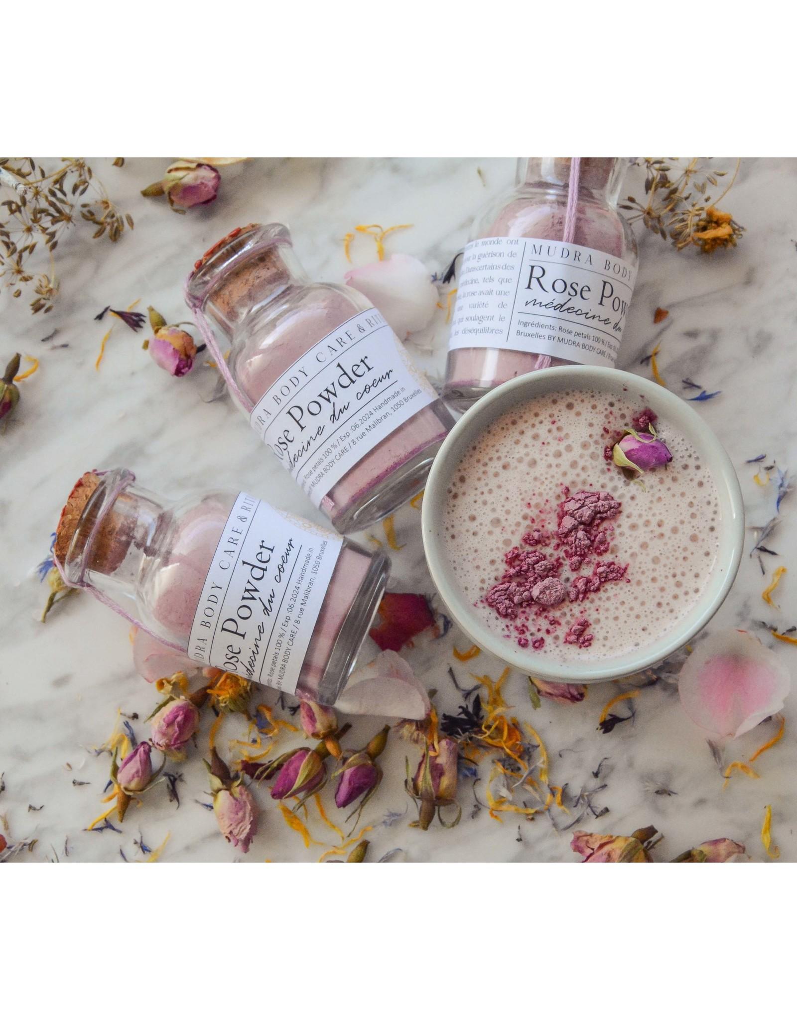Mudra Body Care Rose powder