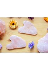 Mudra Body Care Cristal Guasha rose visage
