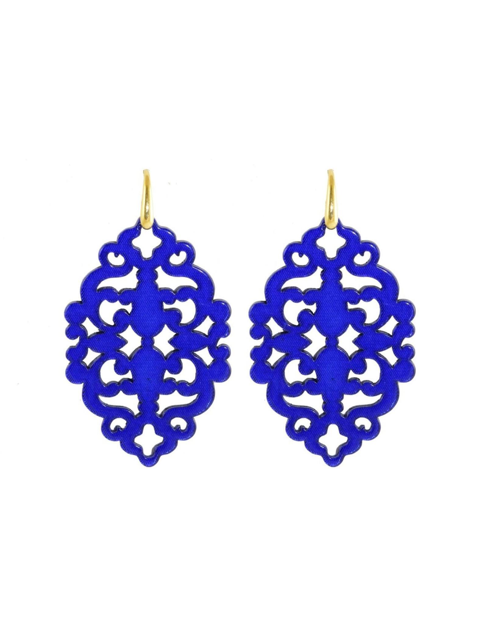 Miccy's Royal blue Oorbellen Miccy's