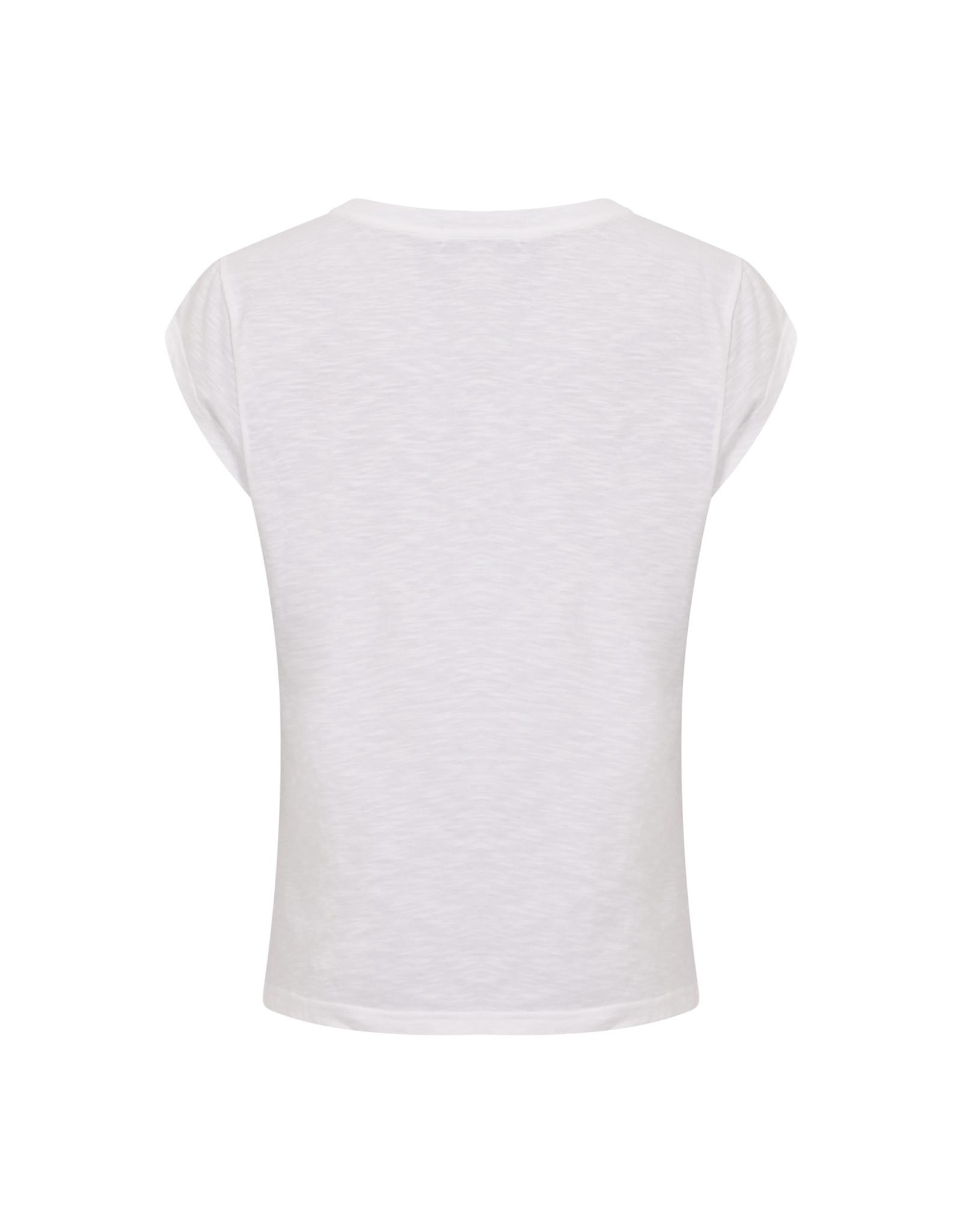 Coster Copenhagen T-shirt Flower White