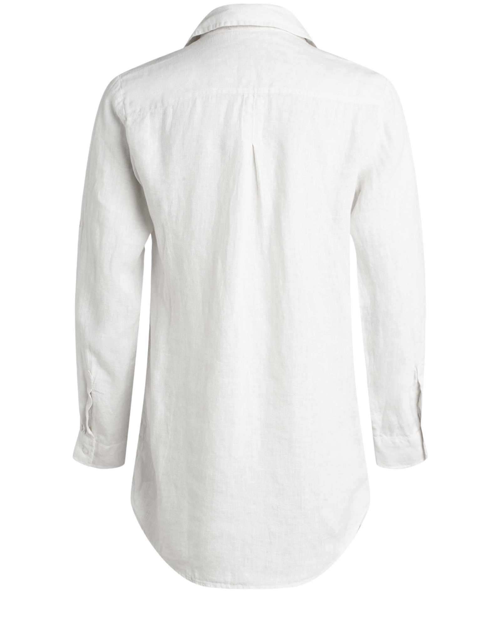Moscow Blouse Button White