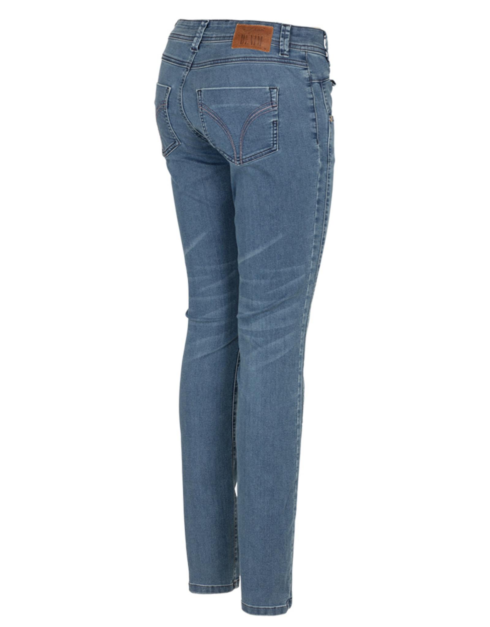 Nickjean Broek Sydney Jeans stone