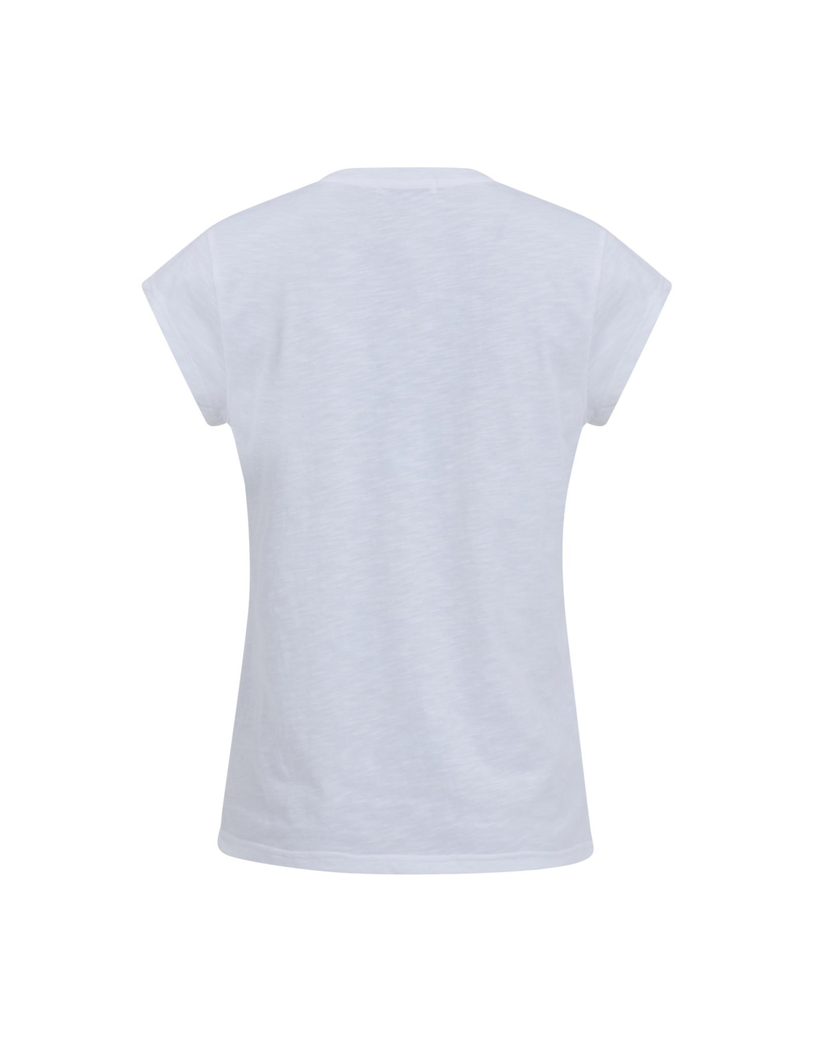Coster Copenhagen T-shirt Butterfly Wit