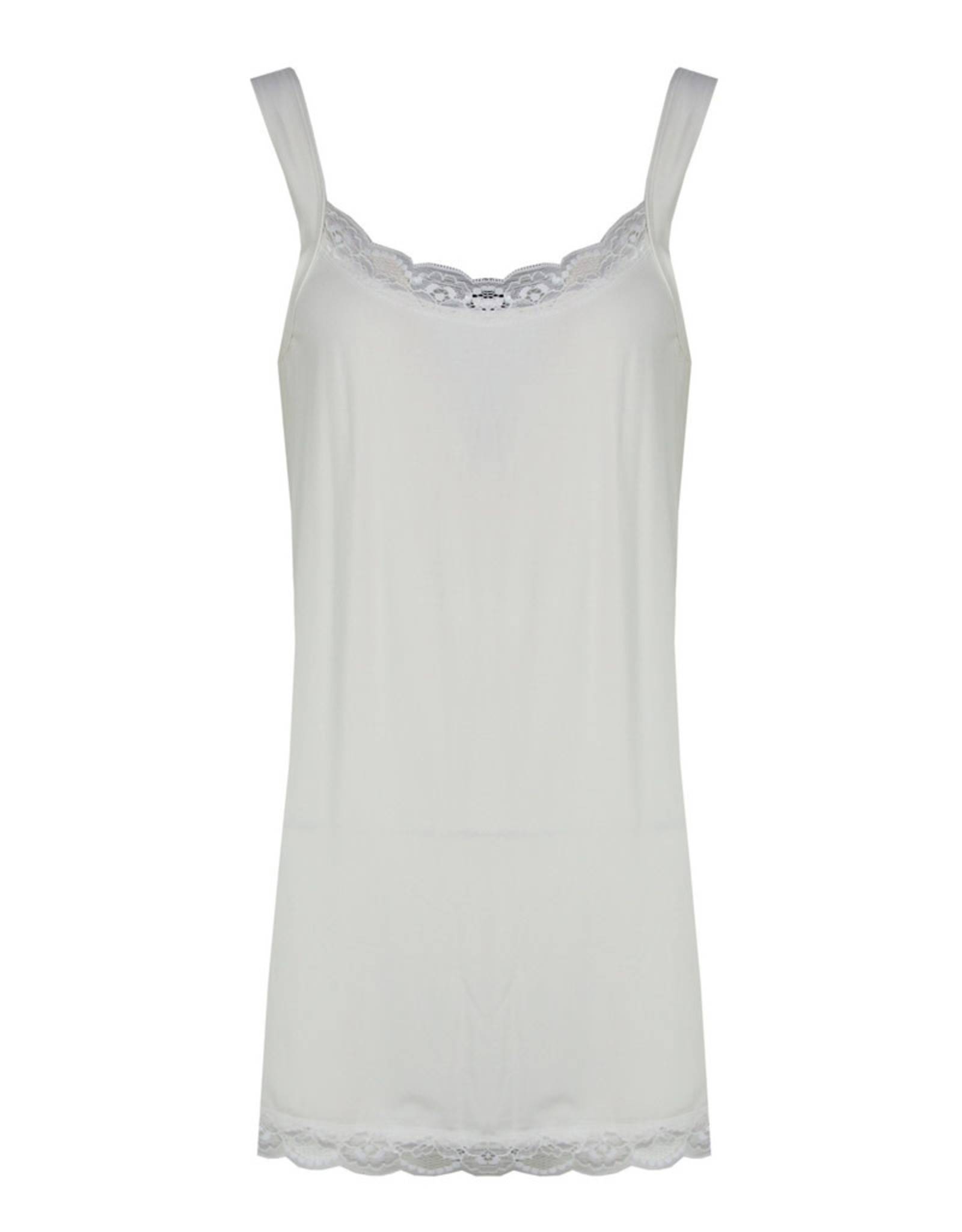 Exxcellent Top Nina lace offwhite