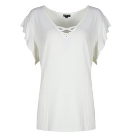 Exxcellent Top Nina Fly Curvy offwhite