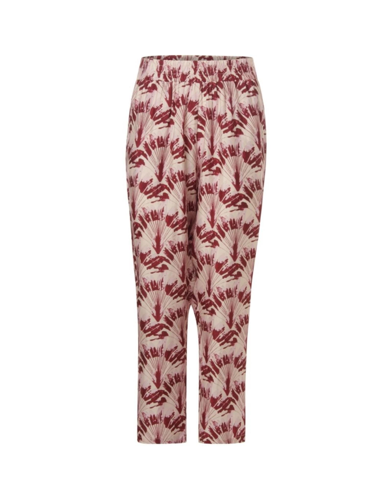 Coster Copenhagen Pantalon palmtree red