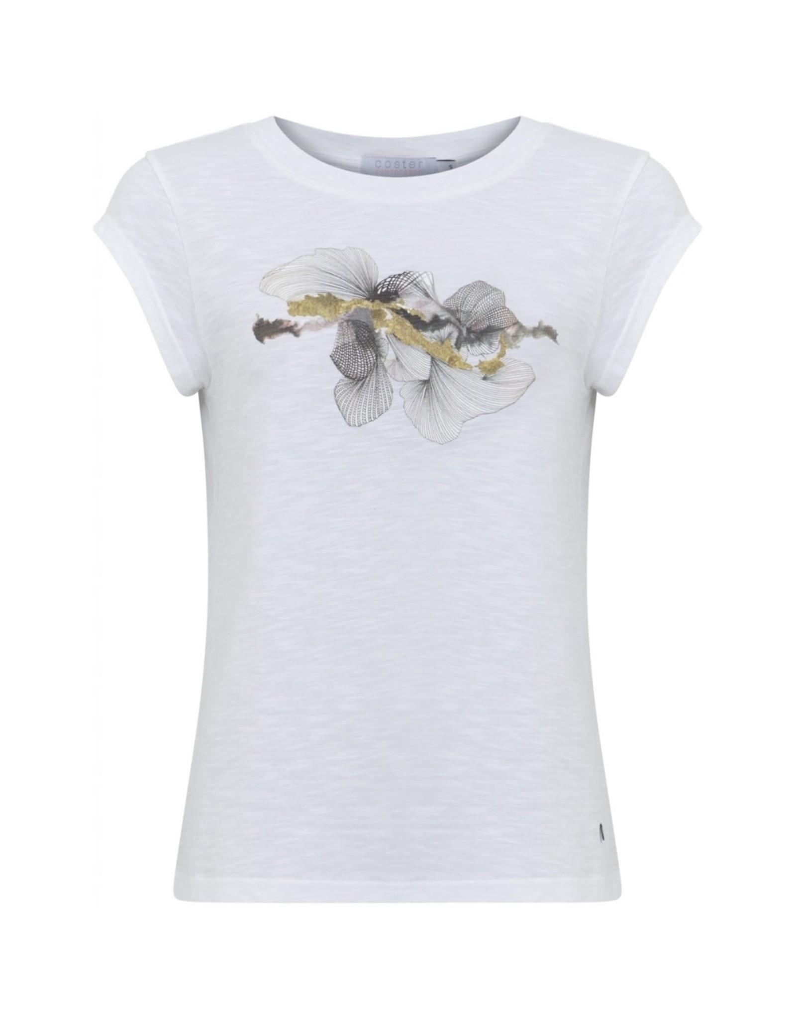 Coster Copenhagen T-shirt Abstra wit