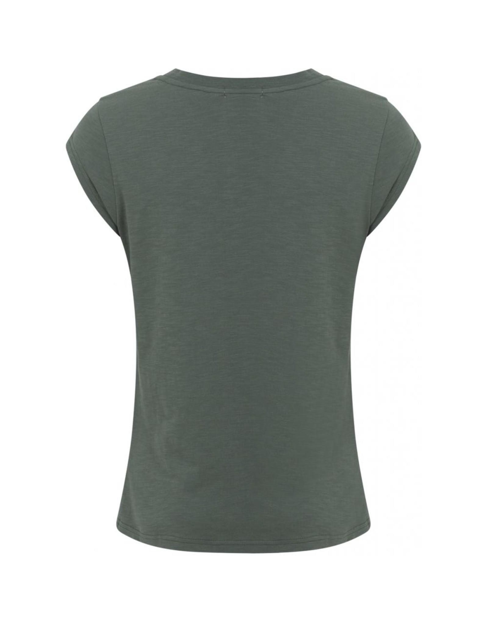 Coster Copenhagen T-shirt Abstra green