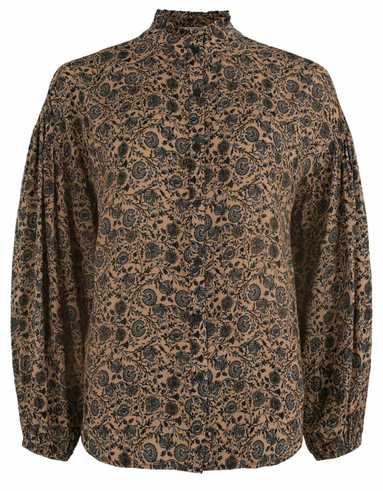 Moscow Blouse Lilian Camel dessin