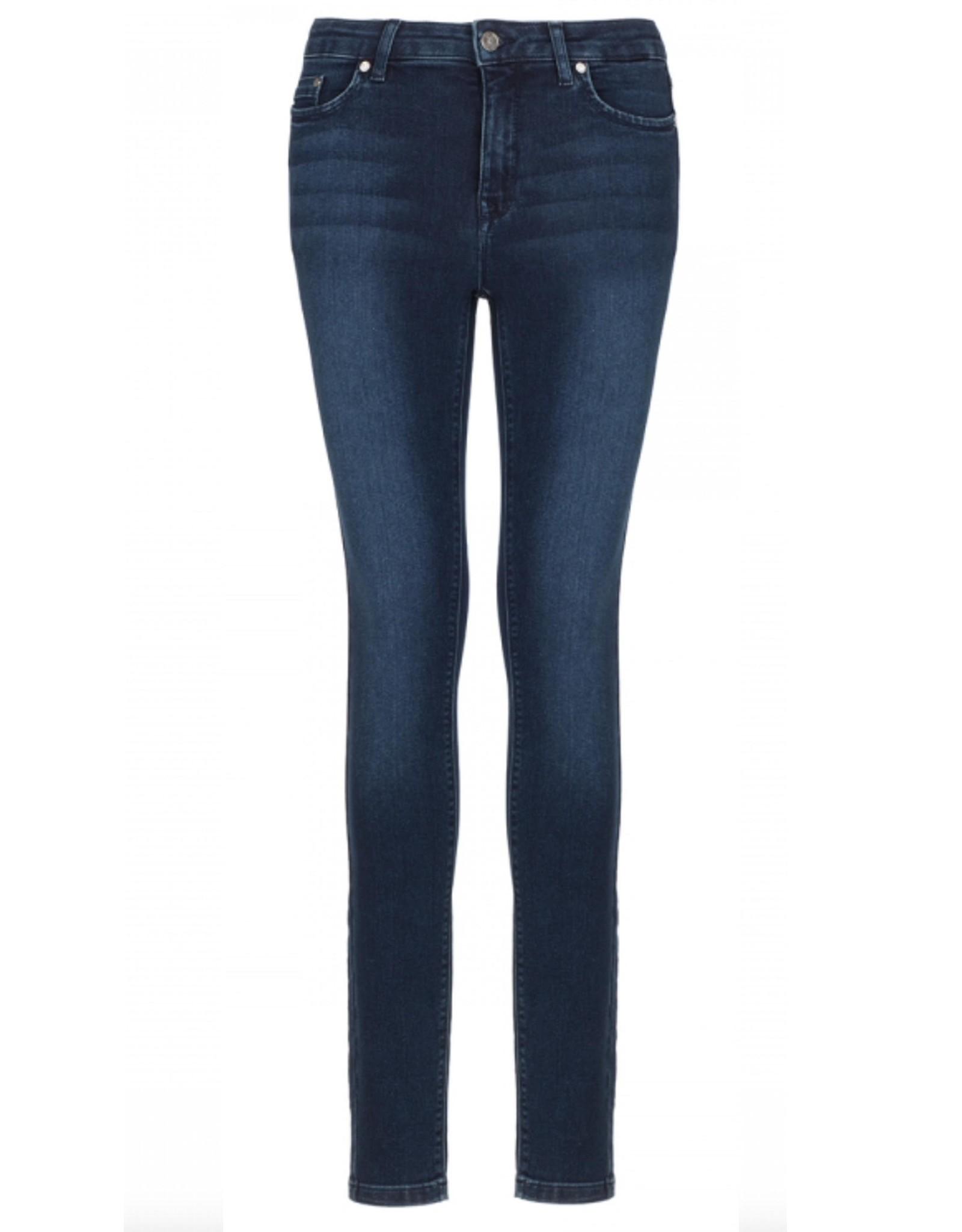 Nickjean Broek Kathy Jeans blue