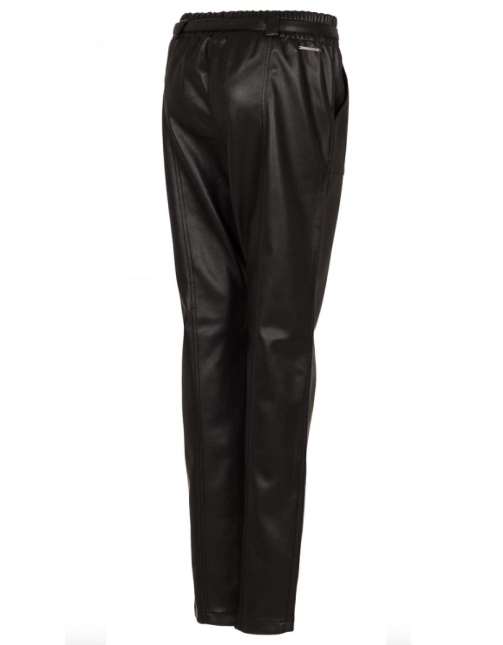 Nickjean Broek Tahlia Leather black